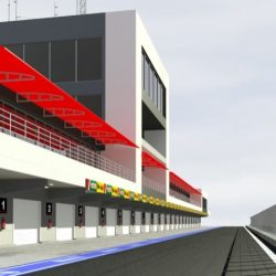 Pit stop building 3d model 3ds max obj