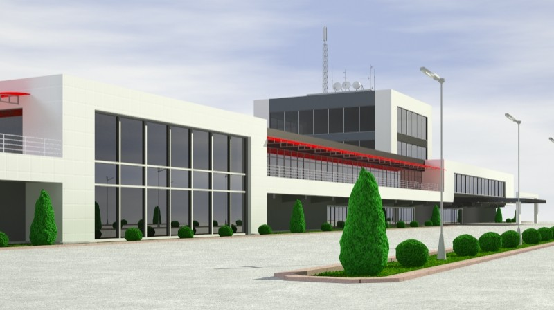 Pit stop building 3d загвар 3ds max obj 203025
