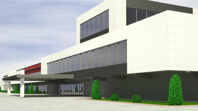 Pit stop building 3d загвар 3ds max obj 203026