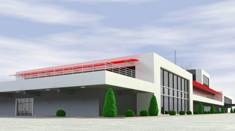 Pit stop building 3d загвар 3ds max obj 203028
