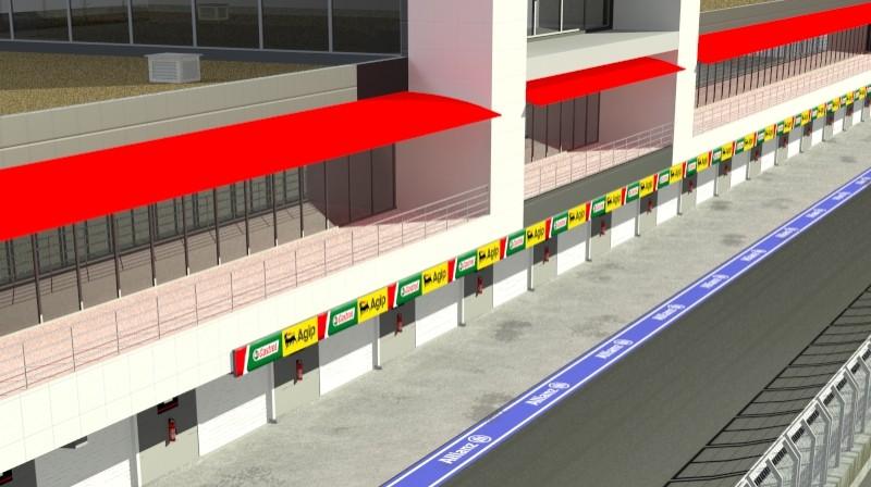 Pit stop building 3d загвар 3ds max obj 203032