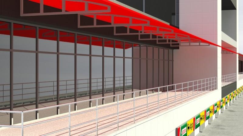 Pit stop building 3d загвар 3ds max obj 203033