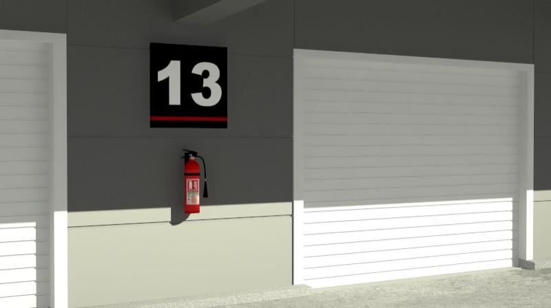 Pit stop building 3d загвар 3ds max obj 203034