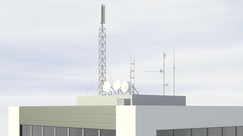 Pit stop building 3d загвар 3ds max obj 203035