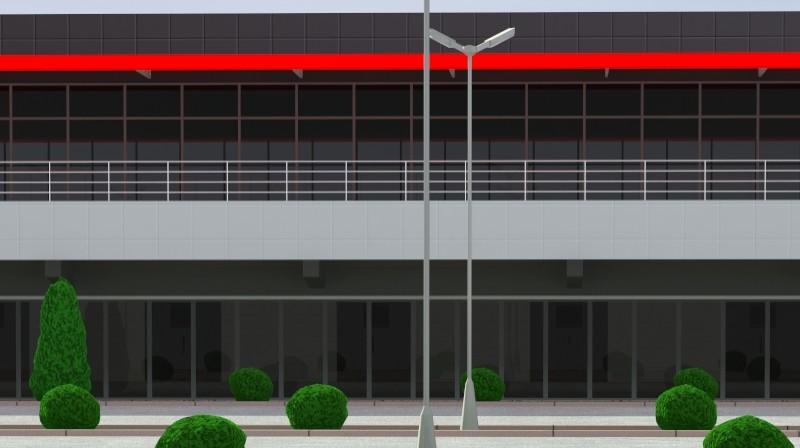 Pit stop building 3d загвар 3ds max obj 203036