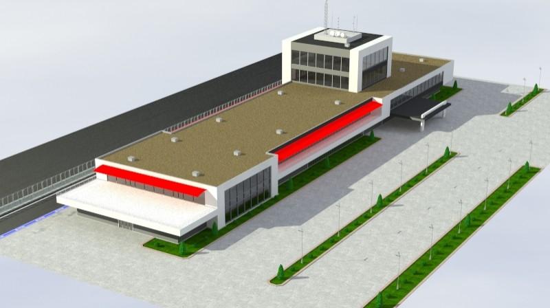 Pit stop building 3d загвар 3ds max obj 203037