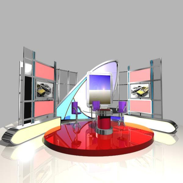 news studio 005 3d model 3ds max dxf fbx texture obj 203131