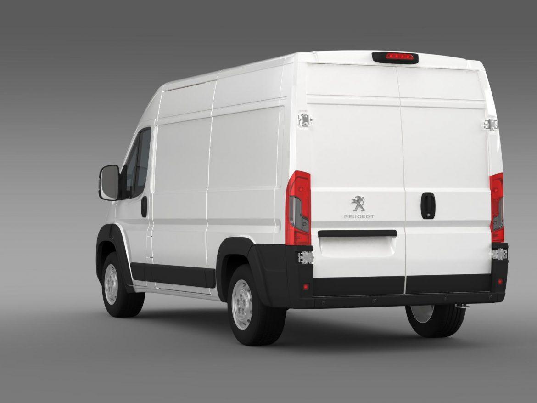 peugeot manager furgon l2h2 2014 3d model 3ds max fbx c4d lwo ma mb hrc xsi obj 203144