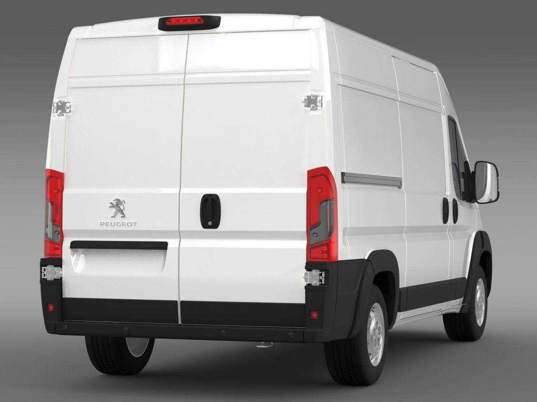 peugeot manager furgon l2h2 2014 3d model 3ds max fbx c4d lwo ma mb hrc xsi obj 203145