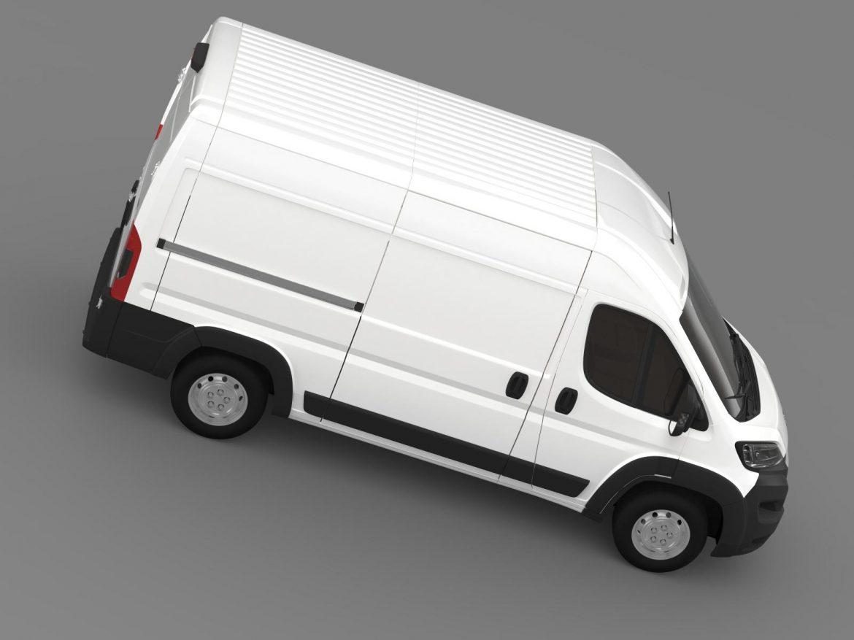 peugeot manager furgon l2h2 2014 3d model 3ds max fbx c4d lwo ma mb hrc xsi obj 203147