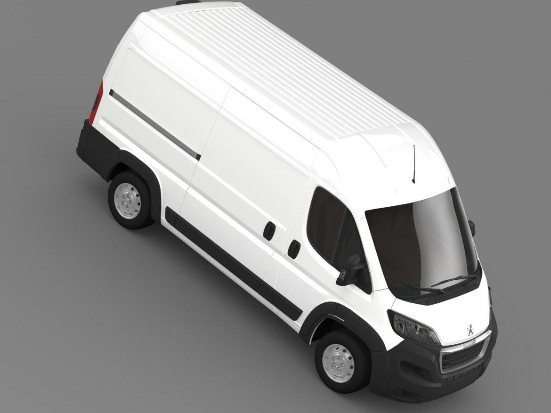 peugeot manager furgon l2h2 2014 3d model 3ds max fbx c4d lwo ma mb hrc xsi obj 203148