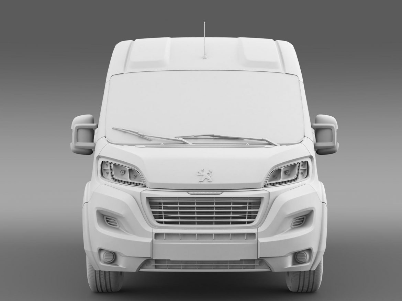 peugeot manager furgon l2h2 2014 3d model 3ds max fbx c4d lwo ma mb hrc xsi obj 203149