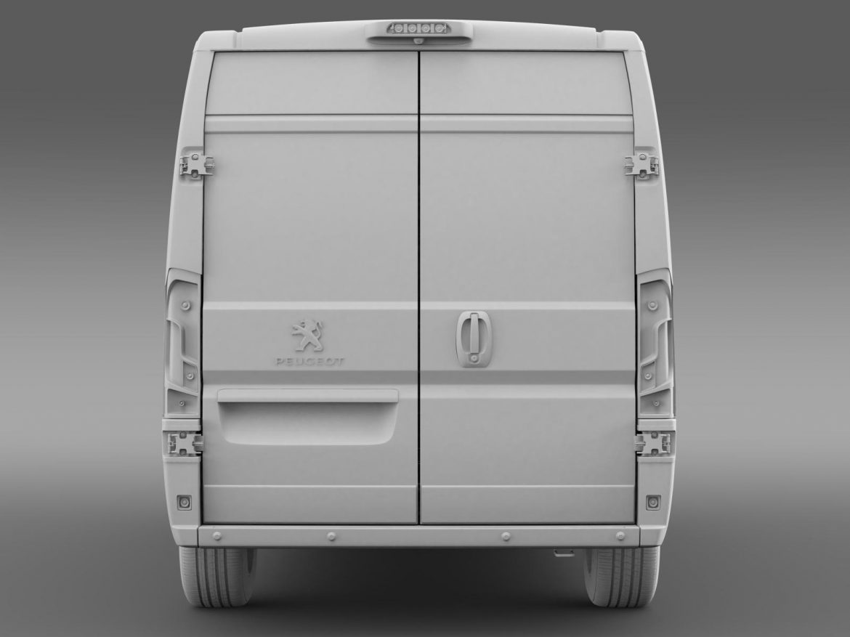 peugeot manager furgon l2h2 2014 3d model 3ds max fbx c4d lwo ma mb hrc xsi obj 203150