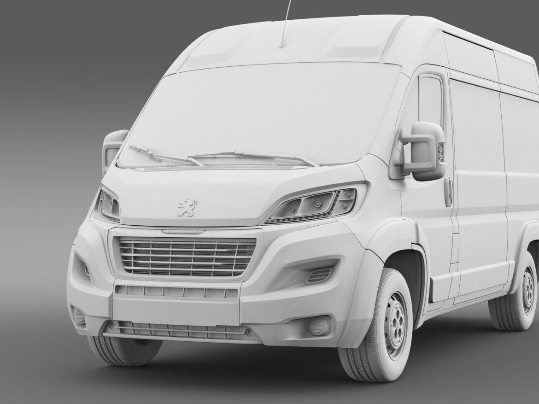 peugeot manager furgon l2h2 2014 3d model 3ds max fbx c4d lwo ma mb hrc xsi obj 203151