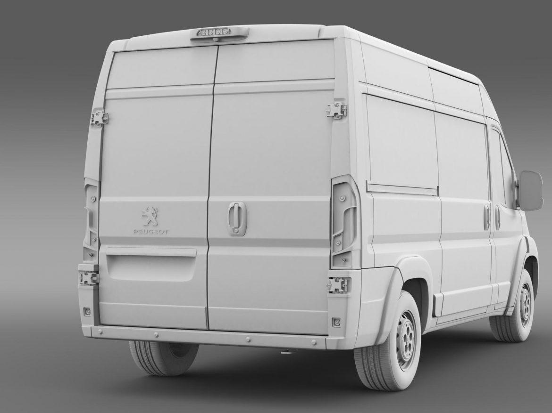 peugeot manager furgon l2h2 2014 3d model 3ds max fbx c4d lwo ma mb hrc xsi obj 203152