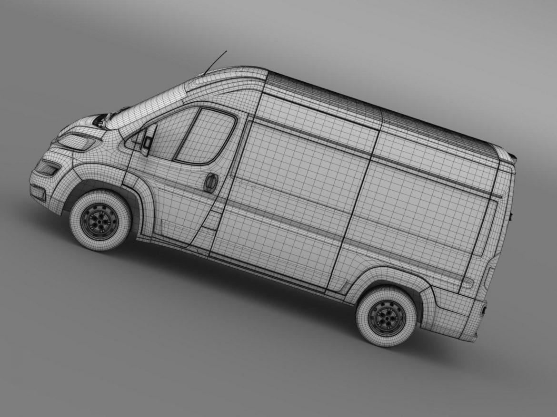 peugeot manager furgon l2h2 2014 3d model 3ds max fbx c4d lwo ma mb hrc xsi obj 203154