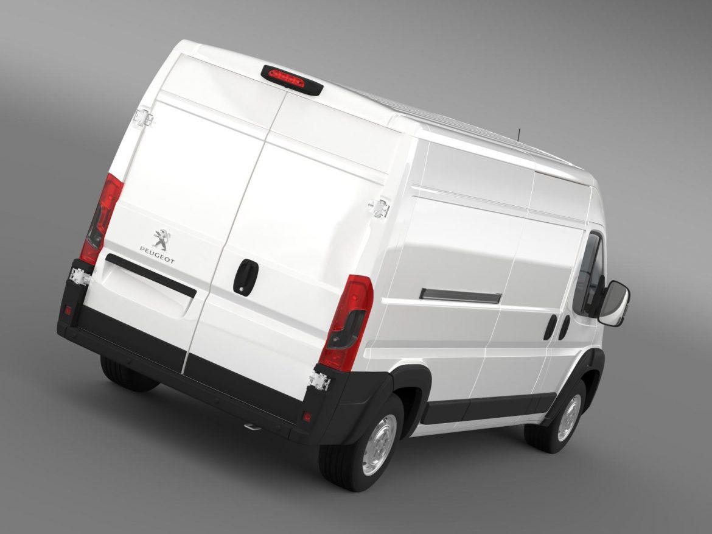 peugeot manager furgon l3h2 2014 3d model 3ds max fbx c4d lwo ma mb hrc xsi obj 203158