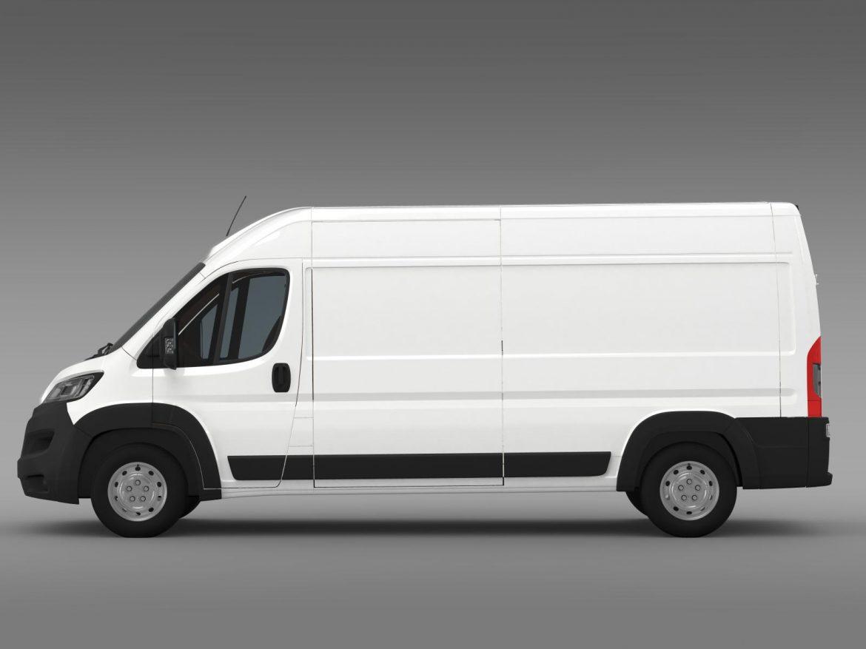 peugeot manager furgon l3h2 2014 3d model 3ds max fbx c4d lwo ma mb hrc xsi obj 203162