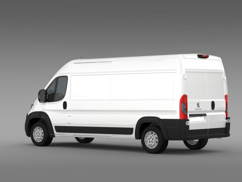 peugeot manager furgon l3h2 2014 3d model 3ds max fbx c4d lwo ma mb hrc xsi obj 203163