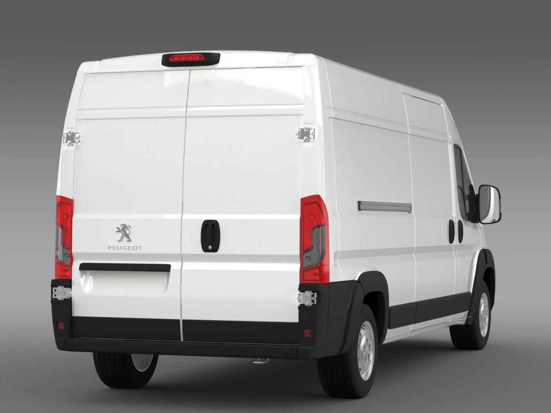 peugeot manager furgon l3h2 2014 3d model 3ds max fbx c4d lwo ma mb hrc xsi obj 203165