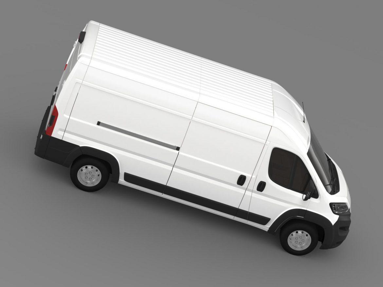 peugeot manager furgon l3h2 2014 3d model 3ds max fbx c4d lwo ma mb hrc xsi obj 203167