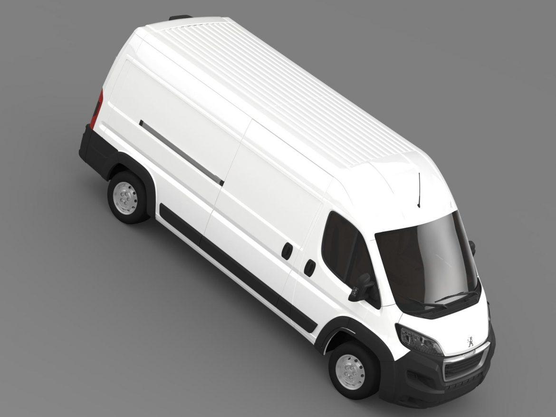 peugeot manager furgon l3h2 2014 3d model 3ds max fbx c4d lwo ma mb hrc xsi obj 203168