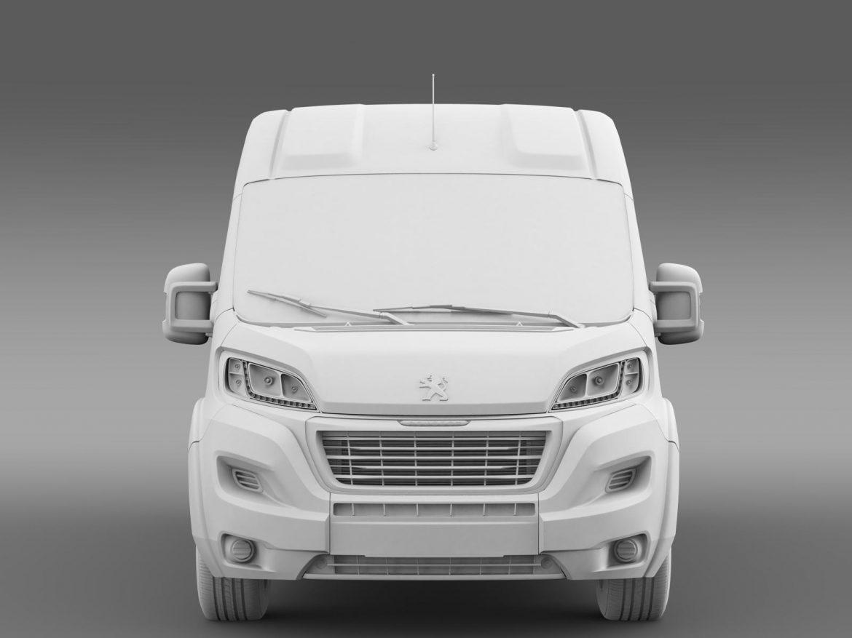 peugeot manager furgon l3h2 2014 3d model 3ds max fbx c4d lwo ma mb hrc xsi obj 203169