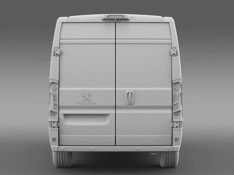 peugeot manager furgon l3h2 2014 3d model 3ds max fbx c4d lwo ma mb hrc xsi obj 203170