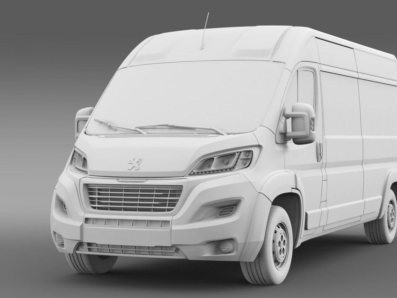 peugeot manager furgon l3h2 2014 3d model 3ds max fbx c4d lwo ma mb hrc xsi obj 203171