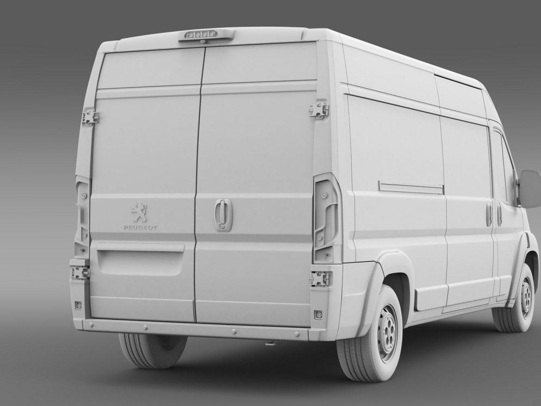 peugeot manager furgon l3h2 2014 3d model 3ds max fbx c4d lwo ma mb hrc xsi obj 203172