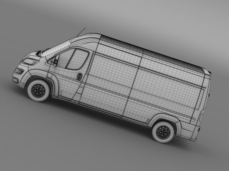 peugeot manager furgon l3h2 2014 3d model 3ds max fbx c4d lwo ma mb hrc xsi obj 203174