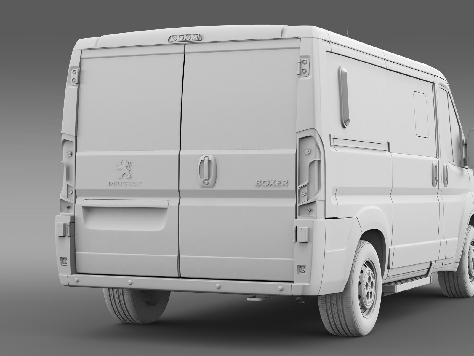 peugeot boxer l1h1 2014 3d model buy peugeot boxer l1h1 2014 3d model flatpyramid. Black Bedroom Furniture Sets. Home Design Ideas