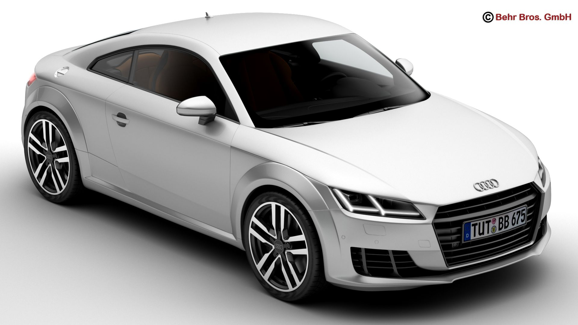 audi tt coupe 2015 3d model 3ds max fbx c4d lwo ma mb obj 203321