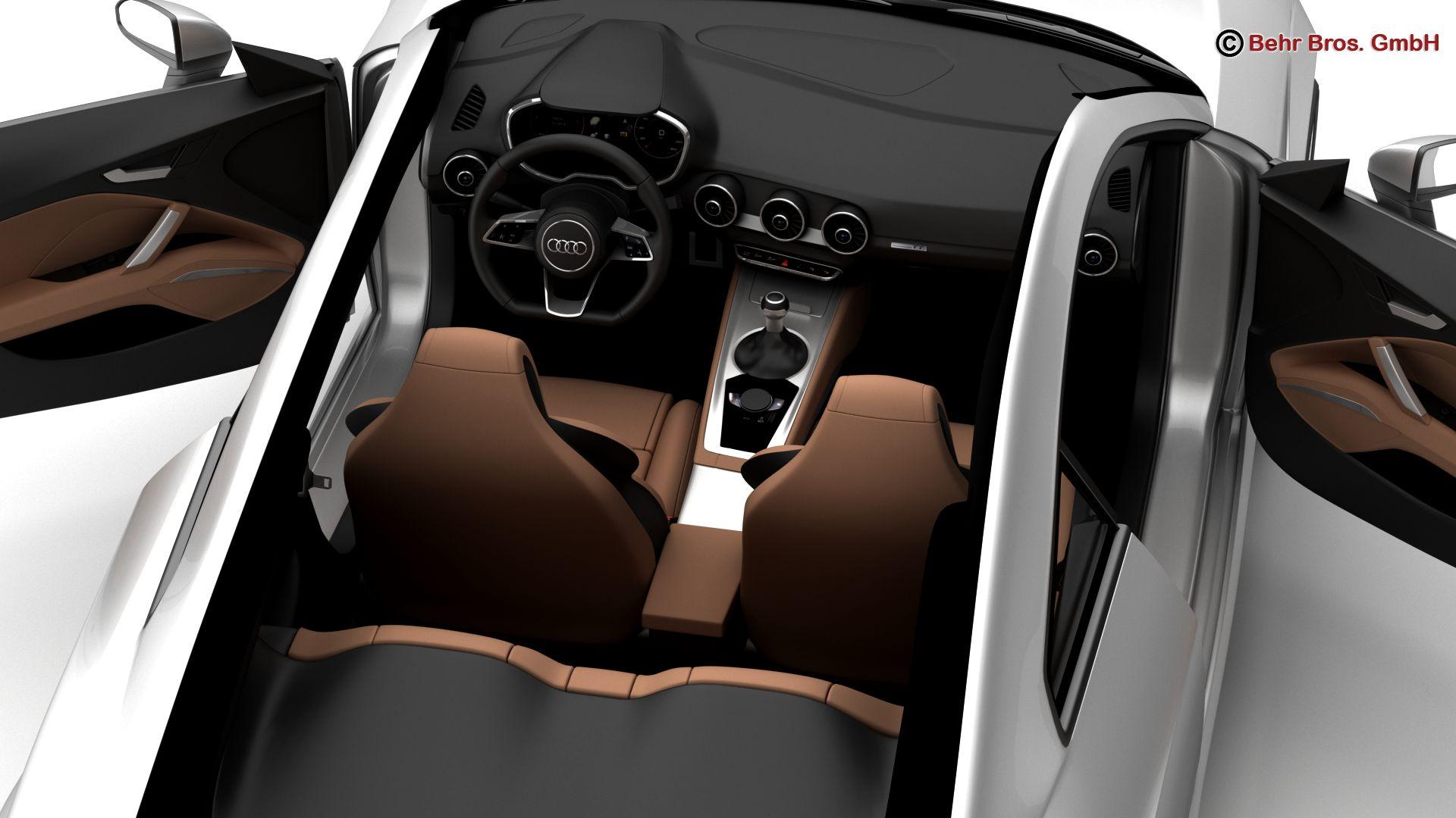 audi tt coupe 2015 3d model 3ds max fbx c4d lwo ma mb obj 203333