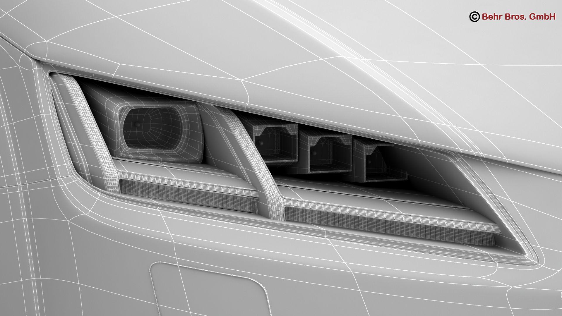 audi tt coupe 2015 3d model 3ds max fbx c4d lwo ma mb obj 203344