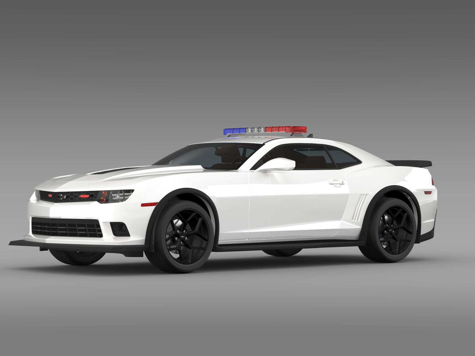 chevrolet camaro z28 police 2015 3d model buy chevrolet camaro z28 police 2015 3d model. Black Bedroom Furniture Sets. Home Design Ideas