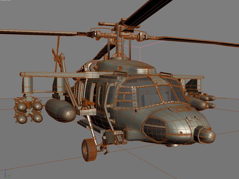 Blackhawk Helicopter ( 371.94KB jpg by GMichael )