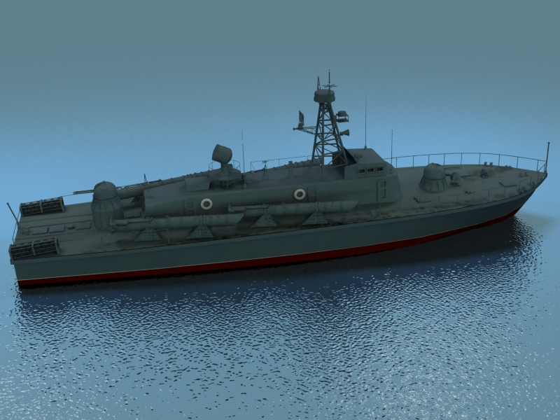 cwch torpido model 3d 3ds max fbx obj 203503