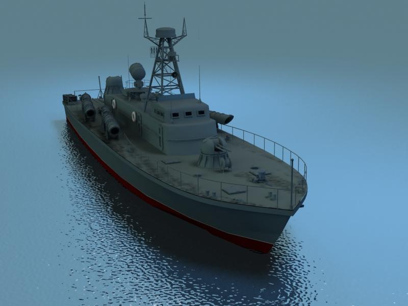 cwch torpido model 3d 3ds max fbx obj 203504