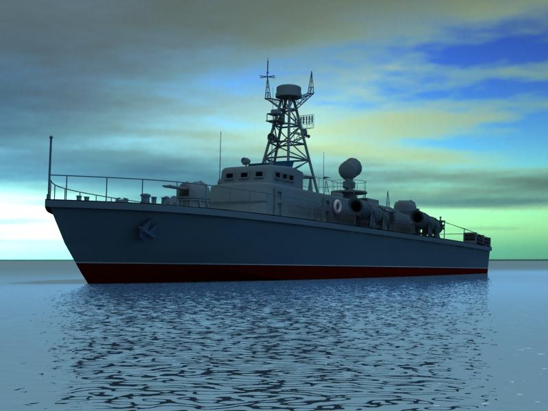 cwch torpido model 3d 3ds max fbx obj 203505