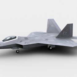 F22 Raptor ( 167.98KB jpg by GMichael )