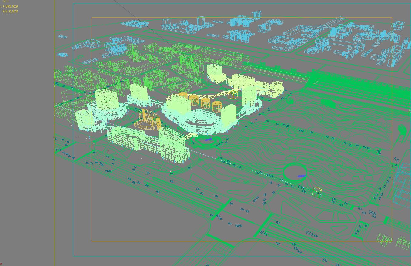 Zračna luka 001 3d model max 203754