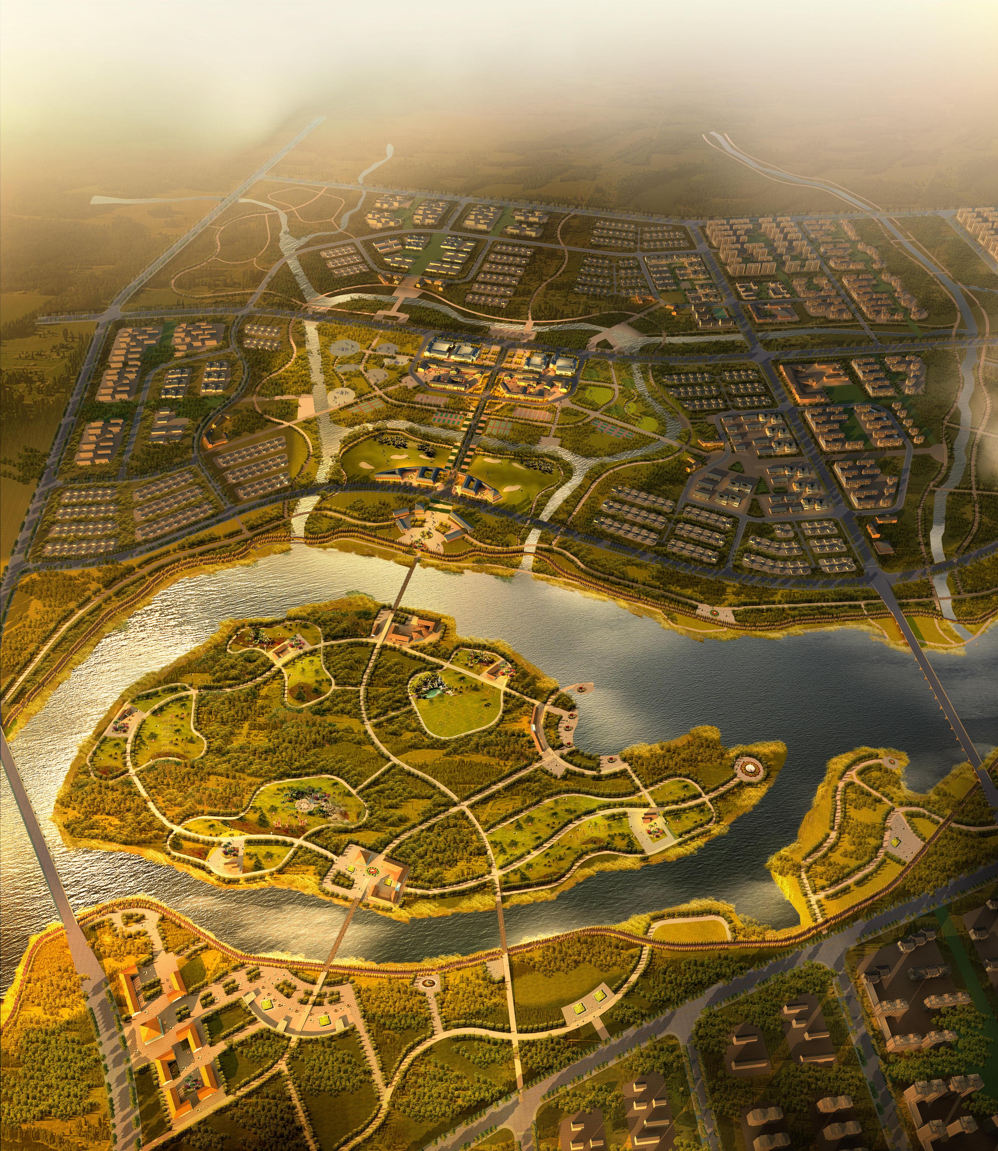 city planning 005 3d model max texture 203757