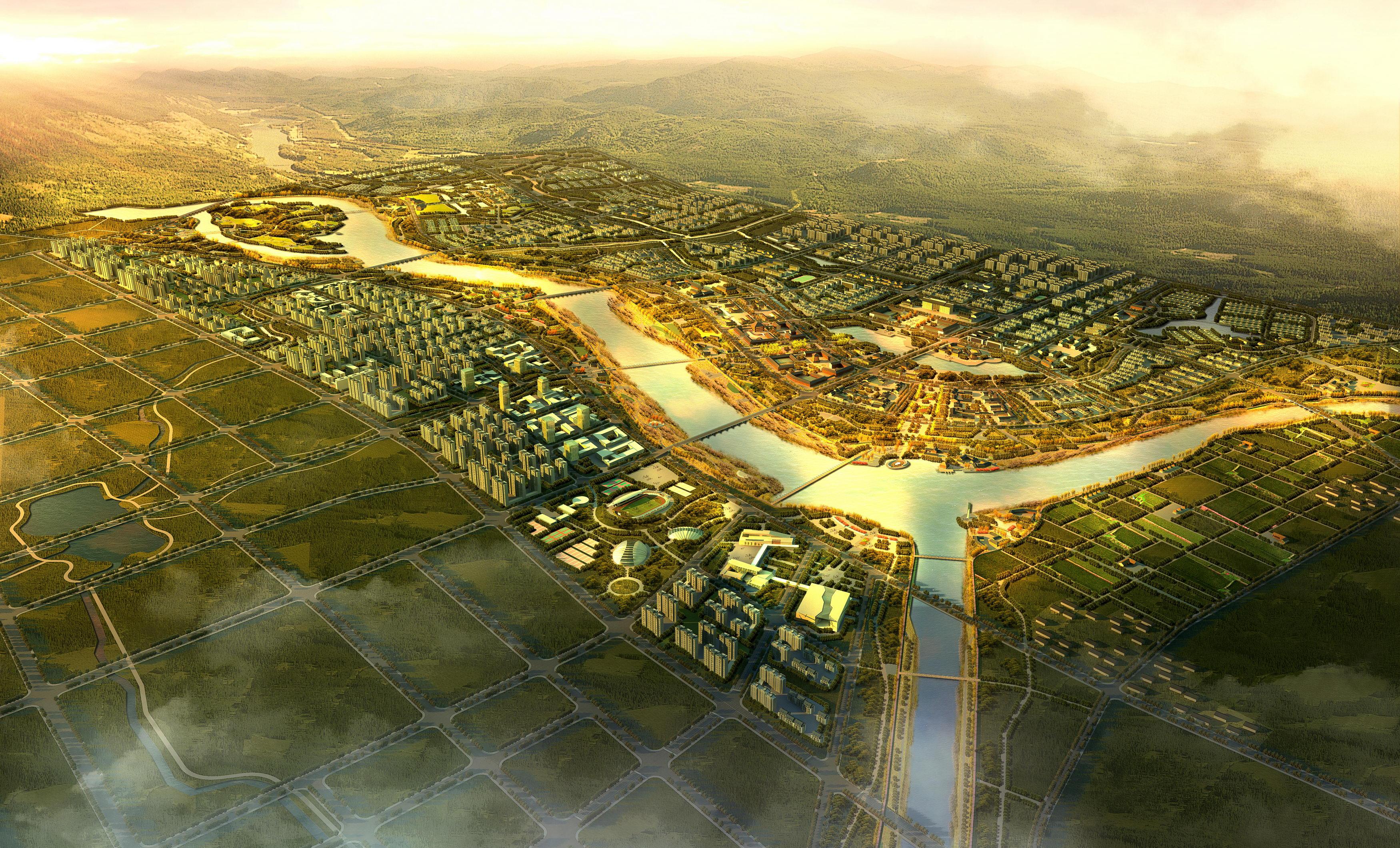 city planning 005 3d model max texture 203759