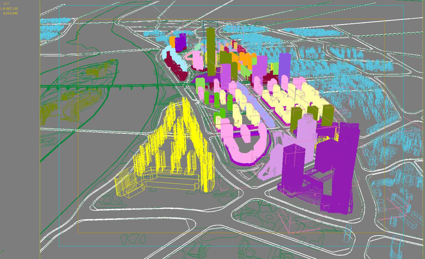 city planning 006 3d model max texture 203766