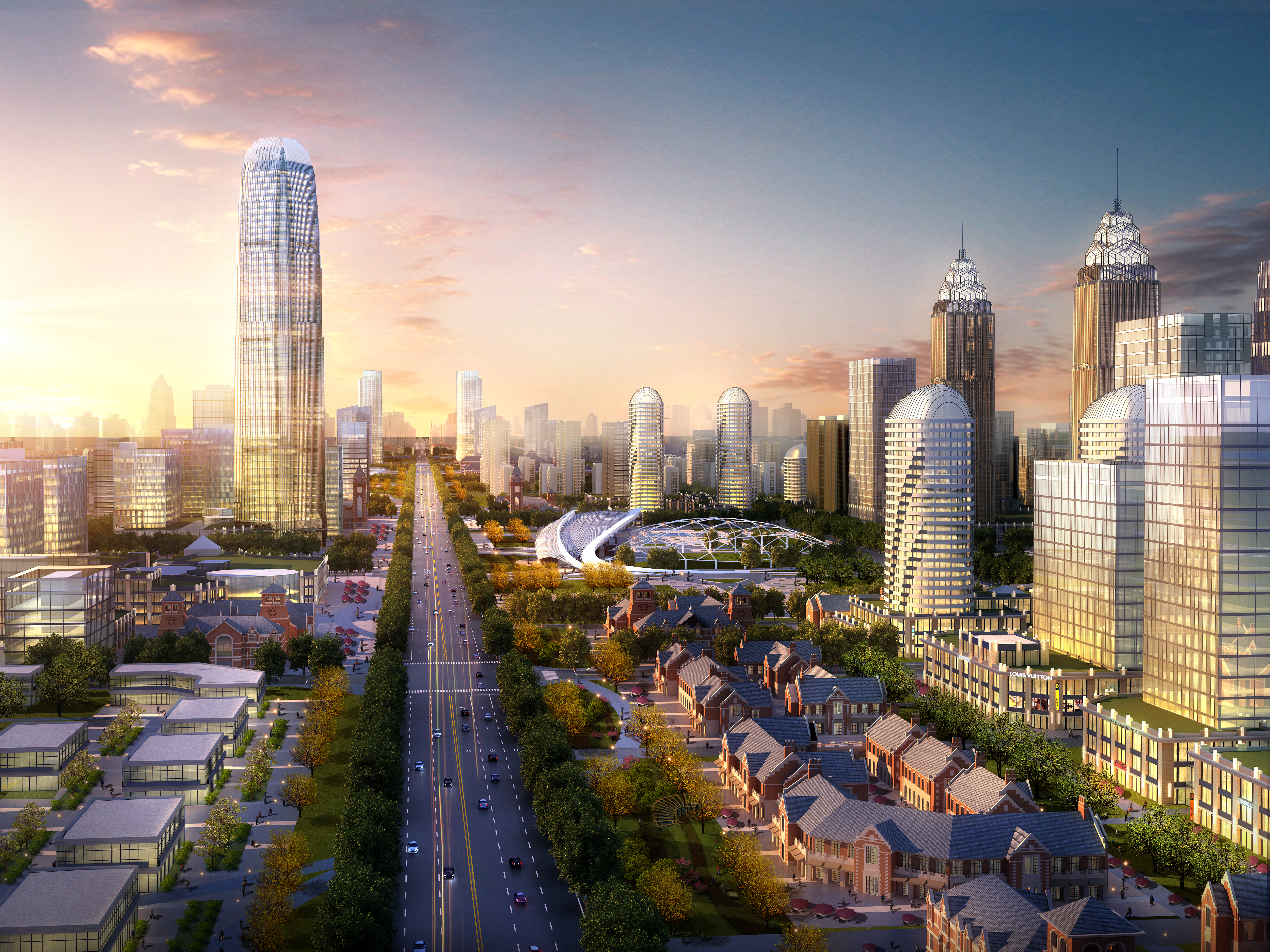 city planning 007 3d model max texture 203768