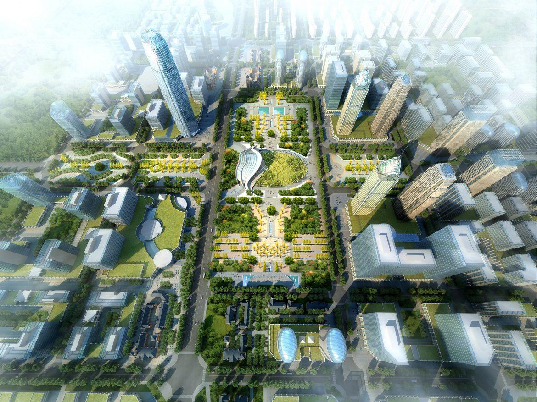 city planning 007 3d model max texture 203770