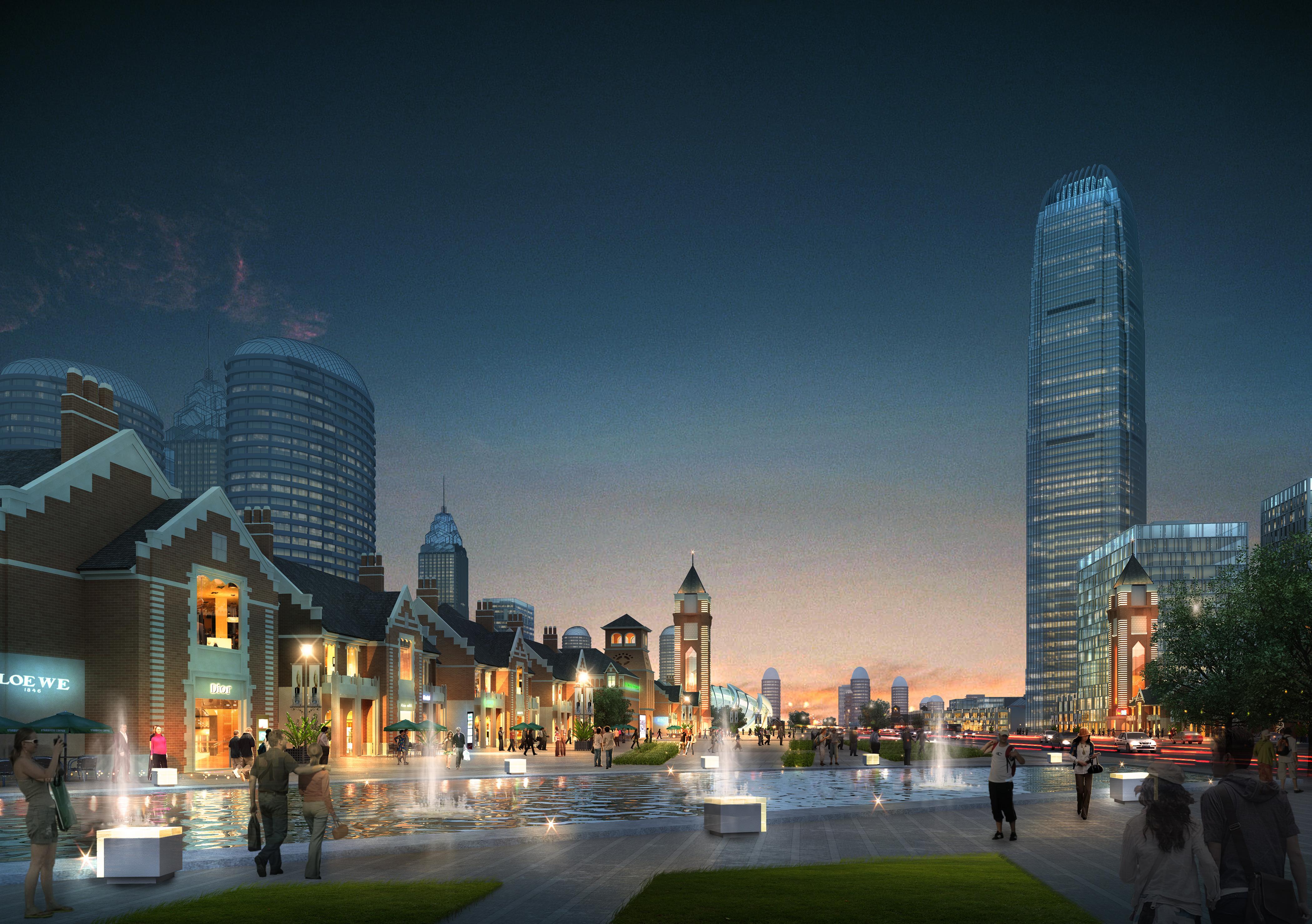 city planning 007 3d model max texture 203771