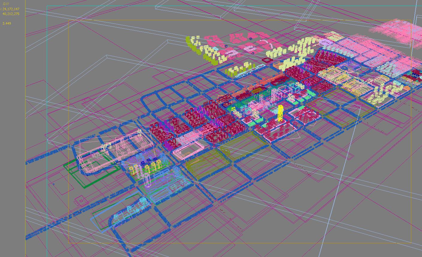 city planning 007 3d model max texture 203773