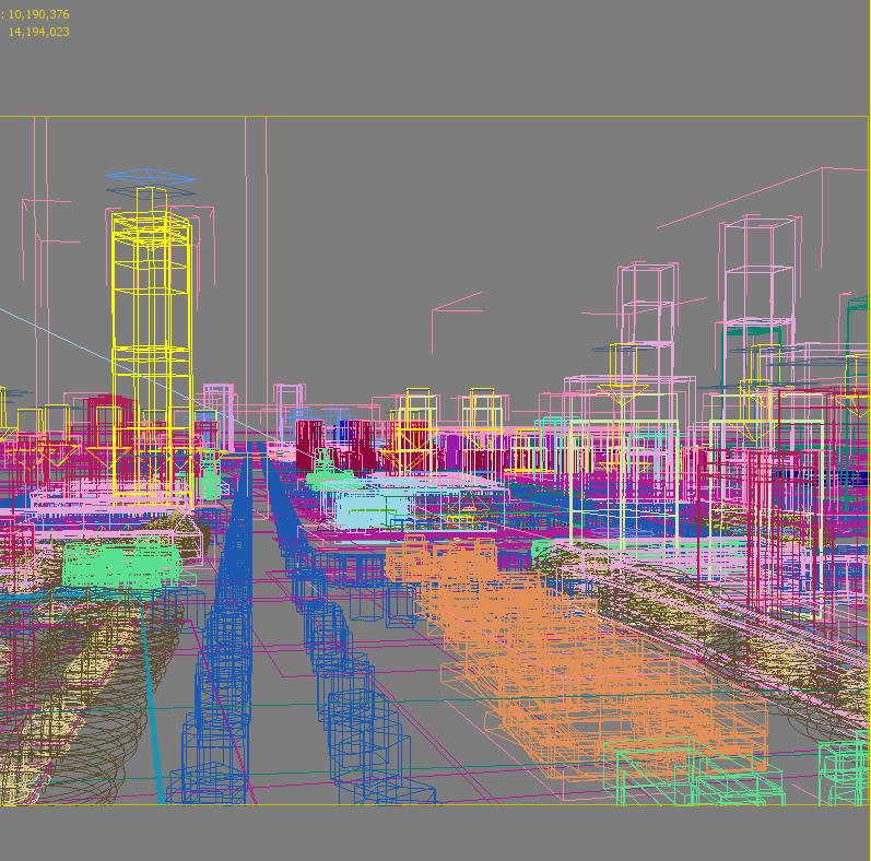 city planning 007 3d model max texture 203774